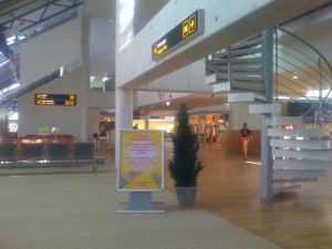 New terminal at Tallinn Airport